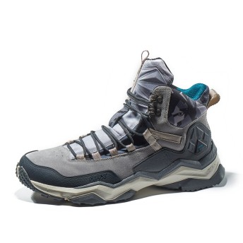 [Rax] トレッキングシューズ メンズ 登山靴 滑り止め 耐磨耗 衝撃吸収 軽量 防水 防滑 ハイキング スポーツ アウトド 通勤 通学 日常着用