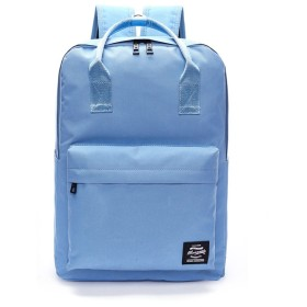 Jieway Unisex Classic Backpack Nylon Waterproof Travel Laptop School Bags (ライトブルー)