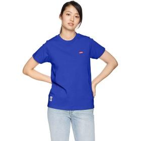 [チャムス] Tシャツ Booby Logo T-Shirt レディース Blue Hawaii 日本 L (日本サイズL相当)