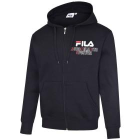 FILA(フィラ) メンズ トップス パーカー 4379 ブラック M