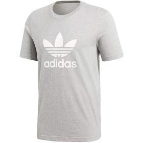 adidas (アディダス) TREFOIL TEE メンズ Tシャツ CY4574/CW0709/CW0710 グレー XS