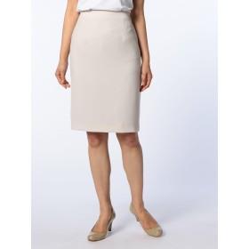 (ノーリーズ ソフィー) NOLLEY'S sophi [新色追加]バックサテンタイトスカート MA706001 40 グレーベージュ