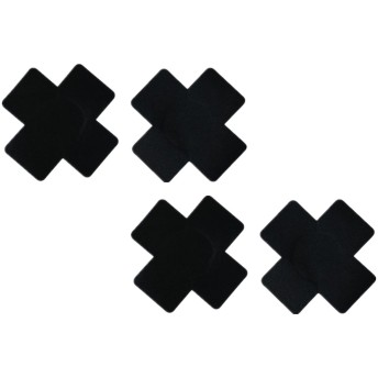 comeondear ニプレス ニップルカバー レディース 女性用 かわいい形 十字 薄型 ヌーブラ 使い捨て ニップル 6組 セット セクシー