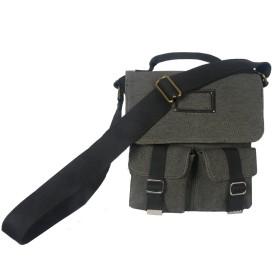 Ducti メンズ フォートワースユーティリティメッセンジャーバッグ ワンサイズ 黒