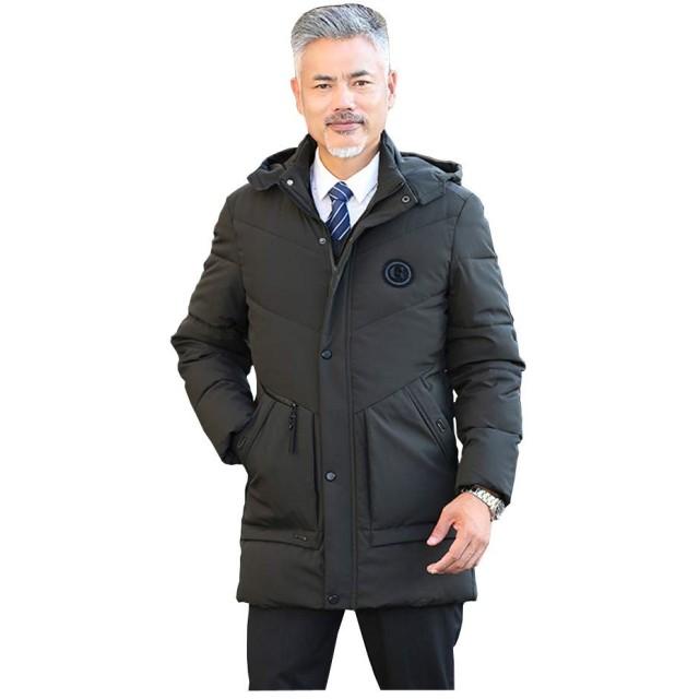 【新品 メンズファッション】コート ダウンコート ショートコート ビジネスコート フードロングコート メンズ ダウン 大きいサイズ 防寒 暖かい カジュアル 軽い 暖かい 動きやすい 秋 冬 紳士 父の日 プレゼント