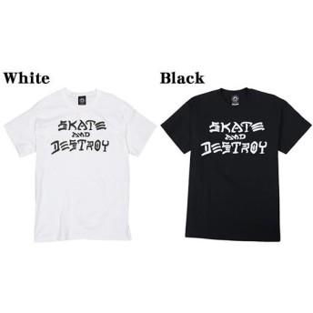 スラッシャー 17FW メンズ スケートボードウェア Skate And Destroy Tee スケート&デストロイ ティー