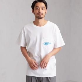 UNITED ARROWS green label relaxing:MEN'S(ユナイテッドアローズ グリーンレーベル リラクシング)/[オフショア] SC OFFSHORE VTG LOGO Tシャツ