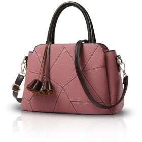 Nicole&Doris 新しい女性/女性ファッションハンドバッグメッセンジャークロスボディショルダー財布トートバッグ ピンク
