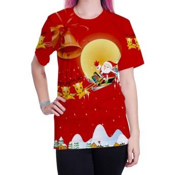 クリスマスの T シャツのドレスアップユニセックス、レディースメンズ t シャツクリスマスギフトパーティー家族のための社会活動を収集