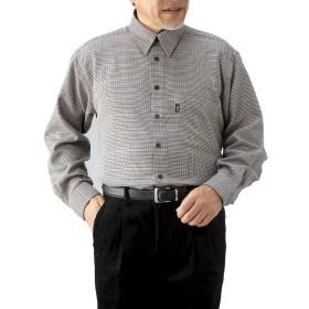 カシミア入りシャツ2色組(L)