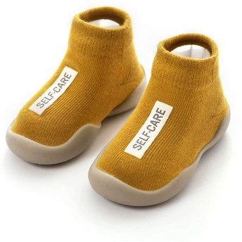 [AOIREMON] 可愛いベビーシューズ ファーストシューズ トレーニングシューズ 赤ちゃん靴下 出産祝い 滑り止め 柔らか 通気性