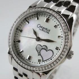 Caravelle キャラベル レディース クリスタル 43L128 腕時計