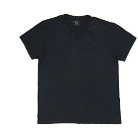 (ラルフローレンダブルアールエル) ralph lauren RRL ソリッド S/S Vネック Tシャツ/NAVY M [並行輸入品]