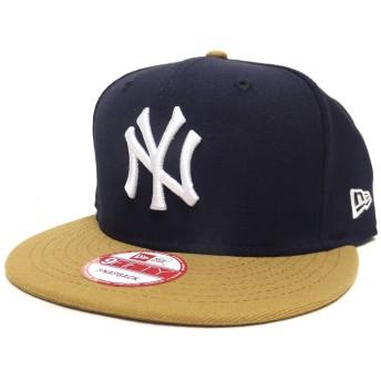(ニューエラ)New Era キャップ スナップバックキャップ NY ヤンキース 紺 11308465 ネイビー/ウィート 9FIFTY NEW YORK YANKEES