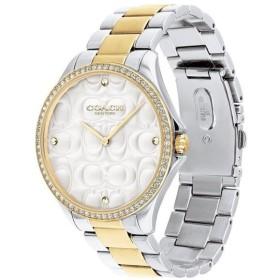 コーチ レディース Modern Sport シルバー×ゴールド ブレスレットウォッチ 14503069 腕時計