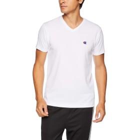 [チャンピオン] Tシャツ Vネック メッシュ CM1HM302 メンズ ホワイト 日本 L (日本サイズL相当)