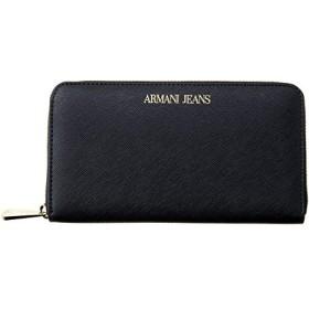 アルマーニジーンズ ARAMANI JEANS 928532 CD857 00020 長財布 BLACK [並行輸入品]