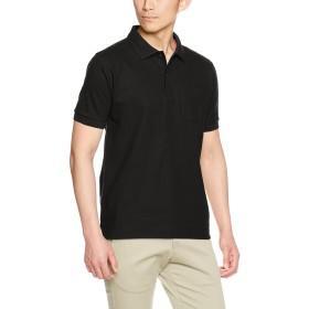 [トラス] ポロシャツ VSP-268 メンズ ディープブラック 日本 S-(日本サイズS相当)