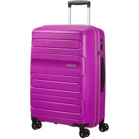 [アメリカンツーリスター] スーツケース キャリーケースサンサイド スピナー67 ブラック 保証付 72.5L 67.5 cm 3.7kg ウルトラバイオレット