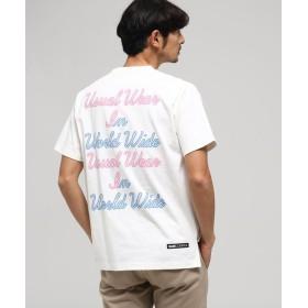 BASE CONTROL(ベースコントロール) 【WEB限定】ベースコントロールT ネオンプリント 半袖Tシャツ