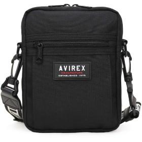 [AVIREX(アヴィレックス)] ミニショルダーバッグ バーチカル AX2010 ブラック