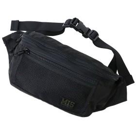 (エムアイエス) MIS『MESH WAIST BAG』 (1.Black, ONE SIZE)