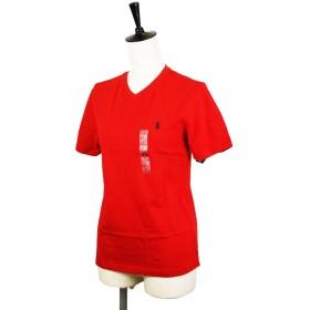 ポロ ラルフローレン【POLO RALPH RAUREN】スモールポニー VネックTシャツ323515558【ボーイズライン】 (M, -5 レッド) [並行輸入品]