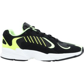 《セール開催中》ADIDAS ORIGINALS メンズ スニーカー&テニスシューズ(ローカット) ブラック 6 革 / 紡績繊維 YUNG-1