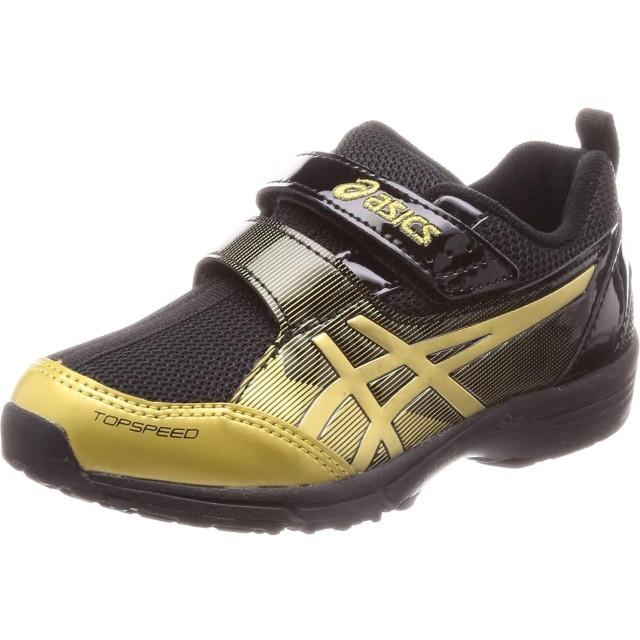 [アシックス スクスク] 子供靴 トップスピード ミニ-zero3 キッズ ブラック/リッチゴールド 20.0 cm