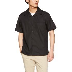 [ユナイテッド アスレ] T/Cオープンカラーシャツ T/Cオープンカラーシャツ メンズ 175901 ブラック 日本 S (日本サイズS相当)