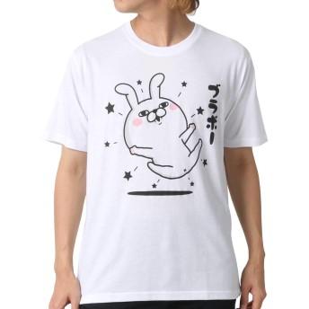 [ヨッシースタンプ] Tシャツ プリント 半袖 メンズ 柄3:(ボディ:ホワイト/プリント:ブラボー) L:(身丈68cm 肩幅44cm 身幅53cm 袖丈22cm)