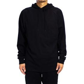 (グッドウェア) Goodwear メンズ USAコットンフード付きロンT (Medium, ブラック)