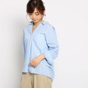 THE SHOP TK(Women)(ザ ショップ ティーケー:レディース)/スキッパーシャツ