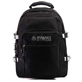 [バイモス]BYMOSS マキシマム リュック 3シリーズ男女兼用 (Maximum Backpack 3Series) (ブラックホワイト) [並行輸入品]