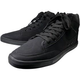 [スワンユニオン] メンズ スニーカー 7cm UP 靴 ハイブリッドブーツ NEOインソール付き ブラック 黒 j-kutu22-25-5-men