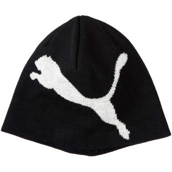 [プーマ] ニット帽 ビーニー 52925 プーマブラック/Big Cat (47) 日本 AD (FREE サイズ)