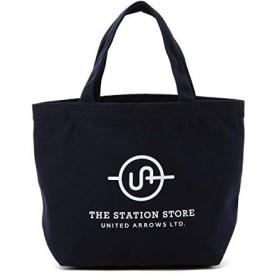ザ ステーション ストア ユナイテッドアローズ(THE STATION STORE) <ST>カラー ロゴ トートバッグ S【ネイビー/フリー(00)】