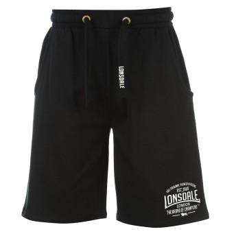 Lonsdale ボックス軽量ショーツメンズ ボクシングショーツ ブラック XL