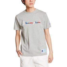 [チャンピオン] スクリプトロゴTシャツ アクションスタイル C3-H371 メンズ オックスフォードグレー 日本 M (日本サイズM相当)