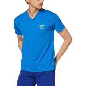 [アンブロ] Tシャツ DRY メッシュ Vネック UBS715A メンズ ブルー 日本LL (日本サイズ2L相当)