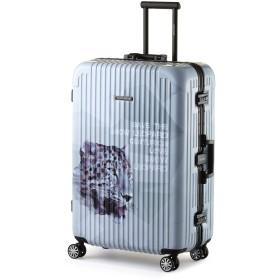 (センチュリオン)CENTURION フレームタイプ FRAME型 スーツケース カラフル おしゃれ 軽量 ビジネス出張 静音 旅行用品 超軽量 大容量 8輪【TSAロック 1年保証】 (29インチ, スノーレパード)