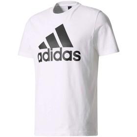 [アディダス] トレーニングウェア エッセンシャルズ リニアロゴ 半袖Tシャツ BVC61 [メンズ] ホワイト/ブラック (CD4863) J/L