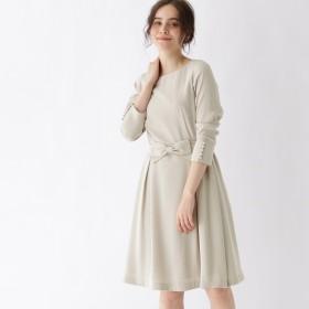 Couture Brooch(クチュールブローチ)/【WEB限定サイズ(SS・LL)あり】【手洗い可】リボンベルト付きワンピース