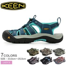 キーン サンダル ニューポート H2 NEWPORT H2 レディース スポーツサンダル 靴 おすすめ アウトドア 防水 定番 レジャー KEEN