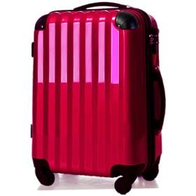 スーツケース中型・超軽量・Mサイズ・TSAロック搭載・キャリーバッグ・6202MA アウトレット新品 (マゼンタ)