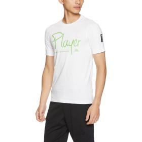 [カッパ] ライフスタイル 半袖Tシャツ Player メンズ ライフスタイル ハンソデティーシャツ プレイヤー メンズ KL752TS01 WT 日本 L-(日本サイズL相当)