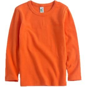 (フォーペンド)Forpend 女の子 ティーシャツ長袖 110cm 120cm 130cm 140cm 選べる7色 クラシックシンプルTーシャツ 春秋冬