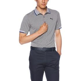 [プーマゴルフ] ゴルフ ストレッチ リブ 半袖ポロシャツ 923768 [メンズ] ミディアムグレイヘザー (03) 日本 M (日本サイズM相当)