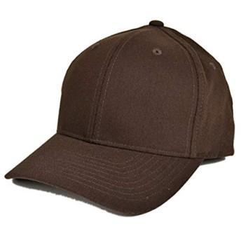 FLEXFIT (フレックスフィット) フレックスフィットツイルキャップ 帽子 メンズ レディース (ブラウン)