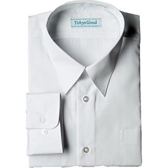 スクール Yシャツ 男子ワイシャツ 学生 A体 B体 長袖 半袖 形態安定 抗菌 防臭 (160A, 長袖)
